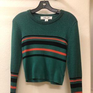 DVF crop sweater